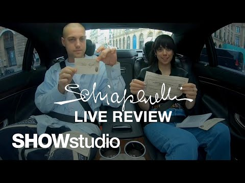 Schiaparelli – Autumn / Winter 2019 Haute Couture Live Review