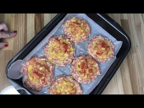Правильное питание, вкусные рецепты ПП, как готовить котлеты-гнезда, 0+
