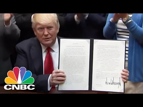 President Donald Trump To Sign Executive Order On Offshore Energy Strategy | CNBC