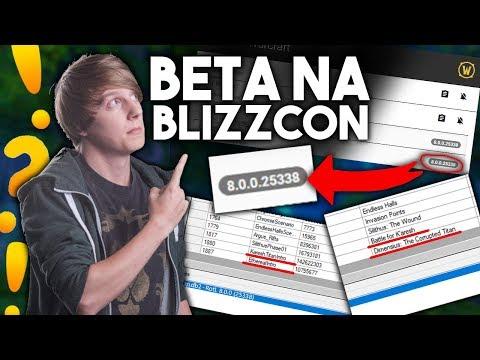 Servery Beta/Alpha Przygotowane pod Blizzcon 2017