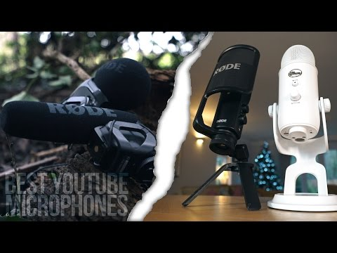 The BEST Microphones for YOUTUBE!