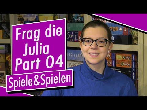 Frag die Julia - Part 04 - Spiele - Spiel doch mal! - Brettspiele