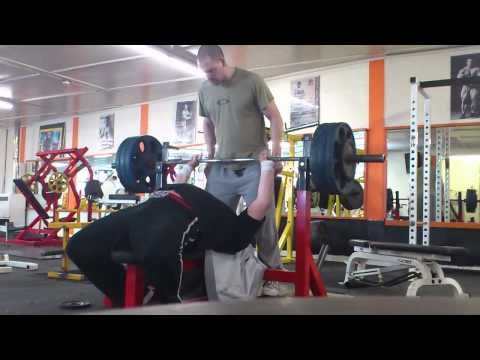 Iron Age Gym 150kg Bench Press Personal Best