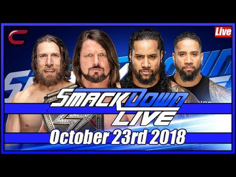 wwe-smackdown-live-stream-full-show-october-23rd-2018-live-reaction-conman167