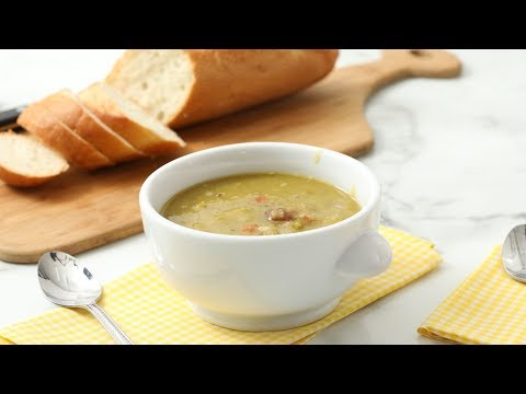 Slow-Cooker Split-Pea Soup- Martha Stewart