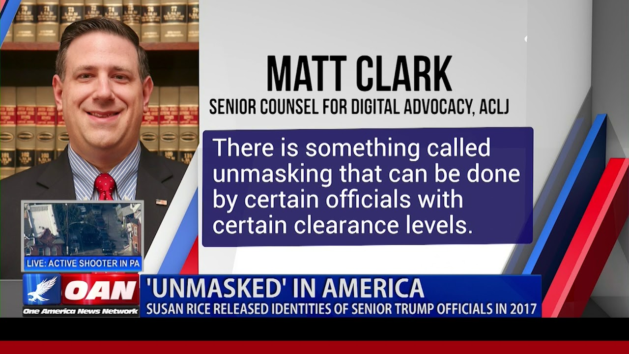 OAN 'Unmasked' in America: Susan Rice released identities of senior Trump officials in 201