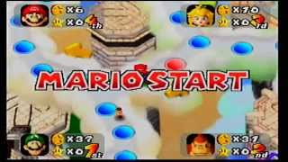 ABM: Mario Party N64 Gameplay (Mario