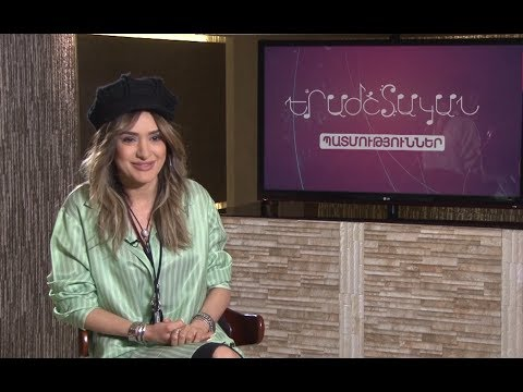 "Astghik Safaryan At ""Musical History"" Tv-program"