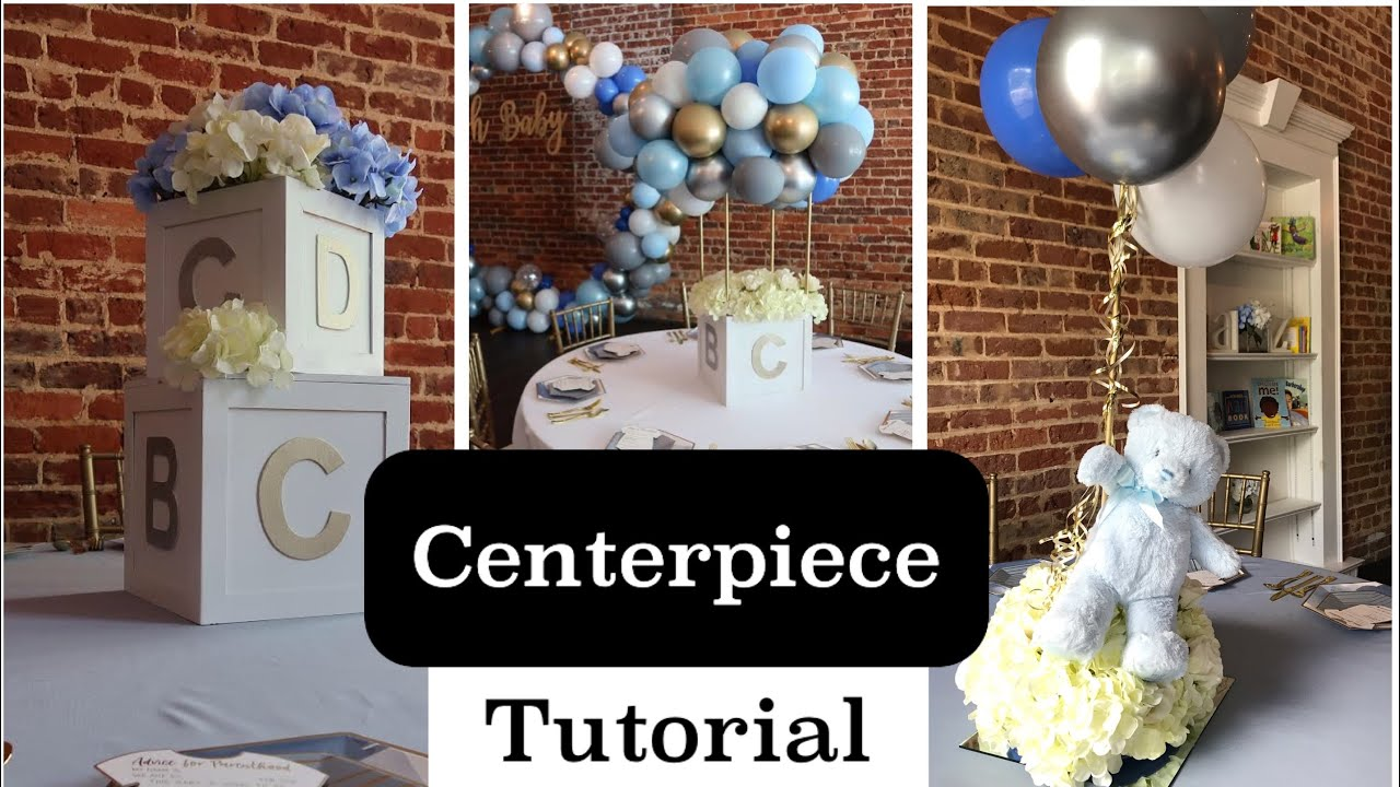 Balloon Centerpiece Pinterest