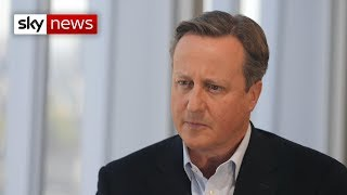 David Cameron's warning to Boris Johnson