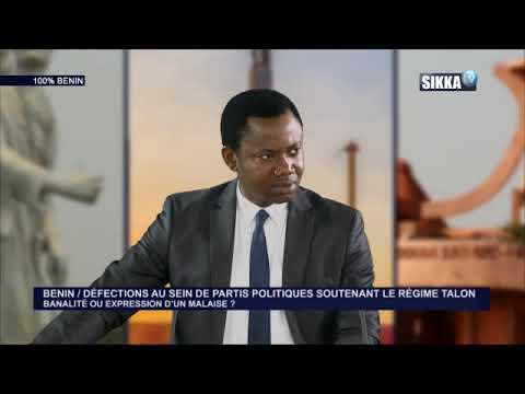 100% BENIN DU 19 04 18 / DEFECTIONS AU SEIN DE PARTIS POLITIQUESSOUTENANT LE REGIME TALON