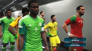 Morocco vs Nigeria Full Match | FINAL CUP AFRICA | PES Gameplay