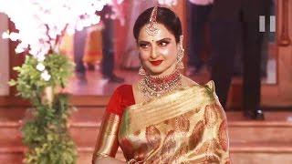 Evergreen Rekha At Stylist Shaina Nath's Wedding Reception
