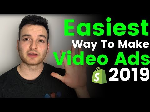 The BEST Way To Make Video Ads For Shopify Dropshipping in 2019 thumbnail