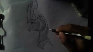 Learn To Draw Cambodia Tragon,  Drawing Tragon, Paint a Tragon