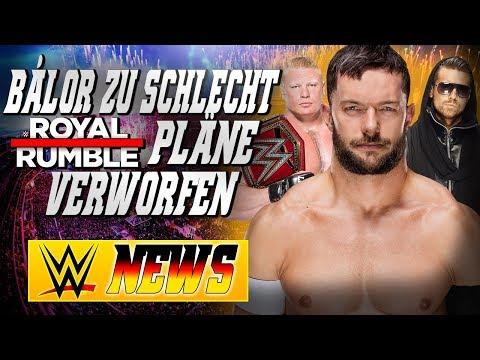 Finn Balor zu schlecht?, Rumble Pläne geändert, Warum The Miz Titel verloren hat | WWE NEWS 83/2017
