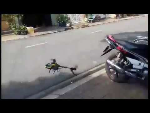 How to fly Helicopter 4 Chanel WLToys V912? I flied it by this way :D