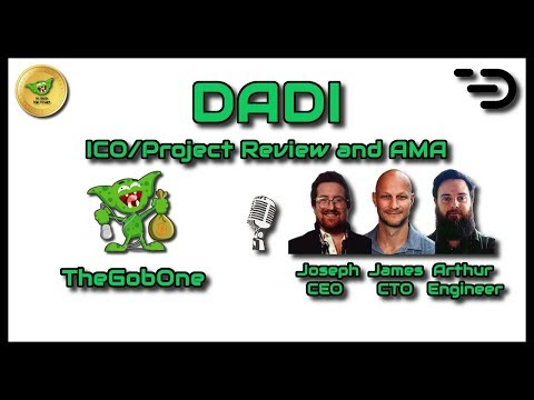 DADI - ICO/Project Review and AMA with the DADI team!