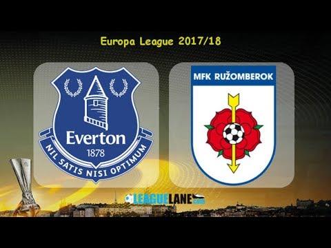 Everton vs Ruzomberok