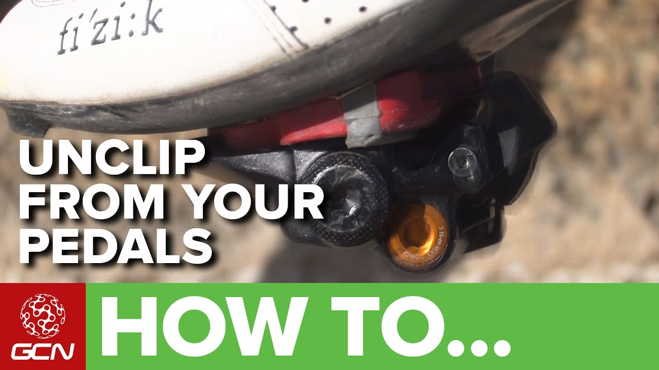 62fa2ee9a How To Unclip - Avoid A Clipless Pedal Disaster! - YouTube