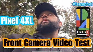 Quick Pixel 4 XL Front Camera Outside Video Test! Direct Upload