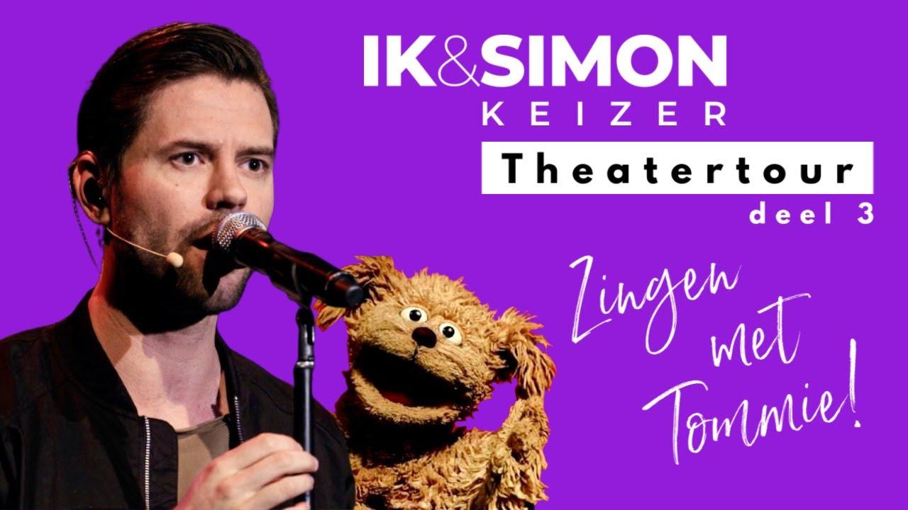 ZINGEN met TOMMIE van SESAMSTRAAT! | deel 3 Ik & Simon Theatershow