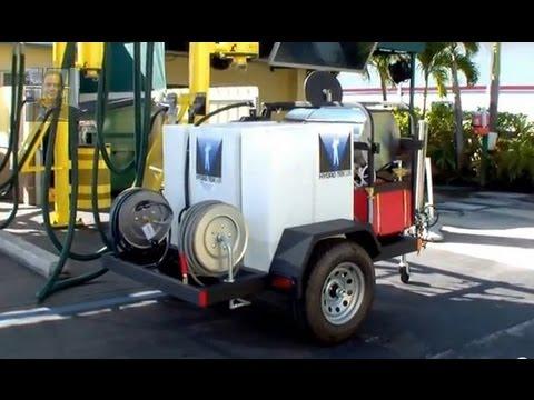Busy Bee Car Wash S New Hydro Tek Hot Water Pressure Washer Trailer Dan Swede 800 666 1992 You