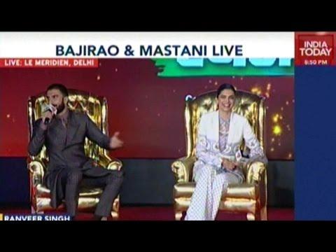 Agenda Aaj Tak: Bajirao And Mastani Live