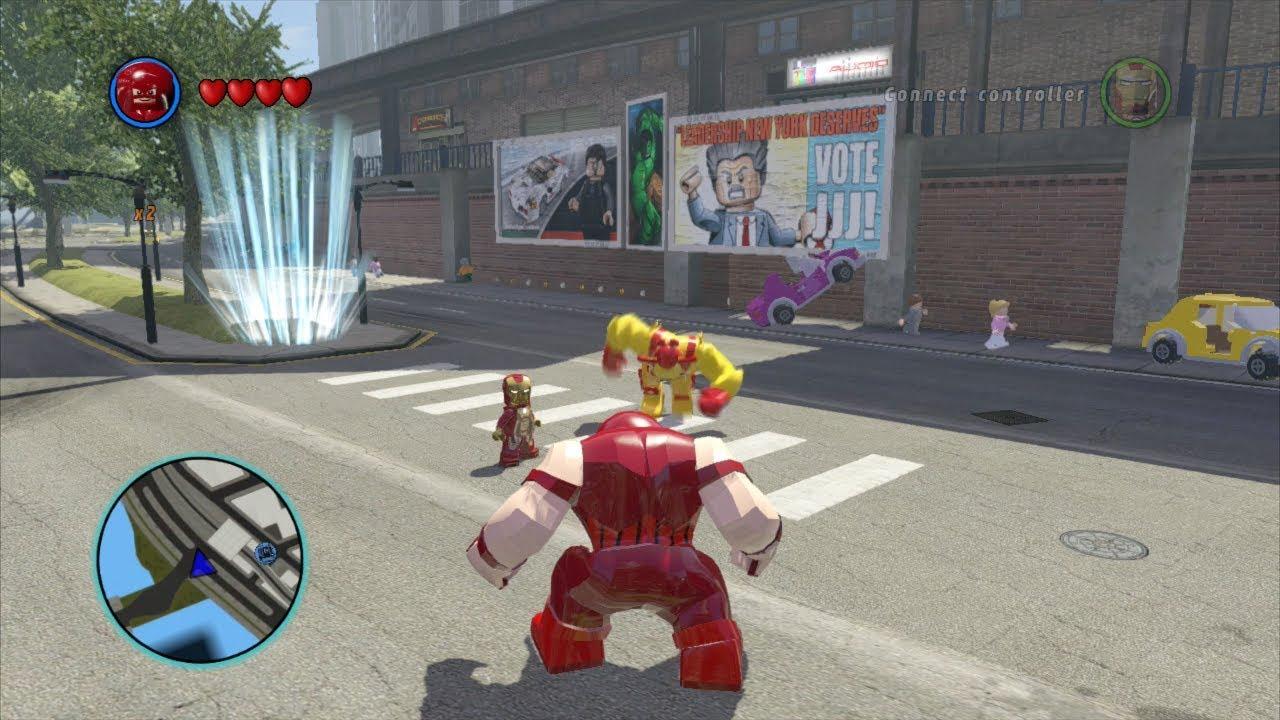 Juggernaut Open World Free Roam Gameplay - LEGO Marvel ...