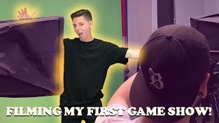 FILMING MY FIRST GAME SHOW!