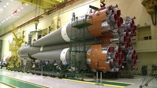 Общая сборка ТГК «Прогресс МС-12» с РН «Союз-2.1а»