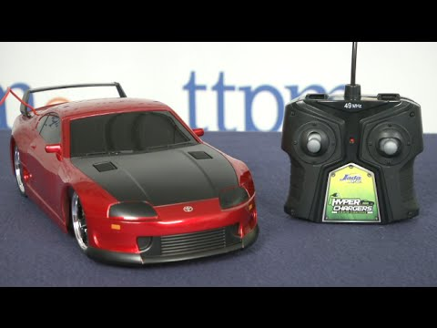 HyperChargers Toyota Supra R/C Car From Jada Toys