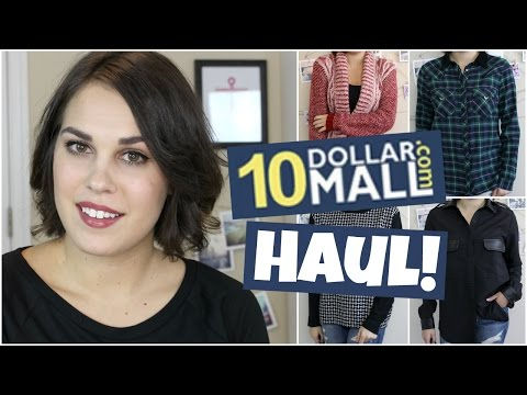 10 Dollar Mall Haul +Try On | Affordable Online Clothing