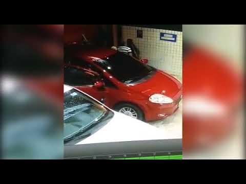 Casal com bebê tem carro roubado em JP; vídeo