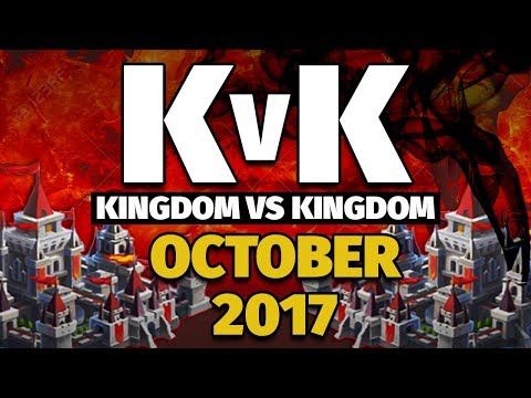 Lords Mobile - Oct 2017 KvK - 12M Kills & 119M Solo Points