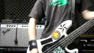 Green Day - 409 in your coffee maker (Bass Cover)