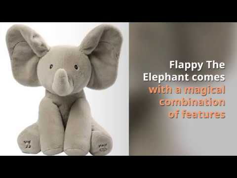 Gund Baby Animated Flappy The Elephant Plush Toys - Review
