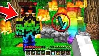 RAINBOW STEVE ATTACKS BOSS STEVE IN MINECRAFT!