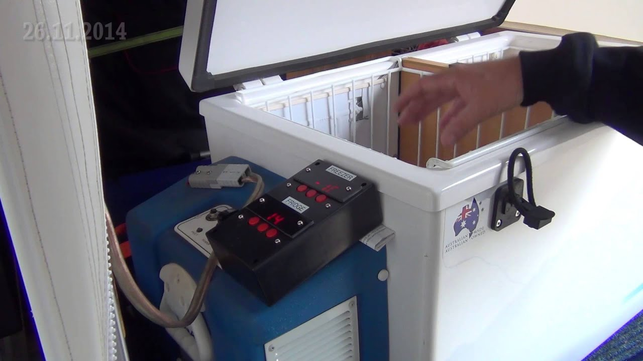 EVAKOOL FRIDGE FREEZER improved dual temp control modification