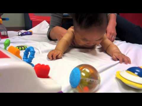 Nine Month Old Baby Boy 1St Time Physical Therapy Evaluation
