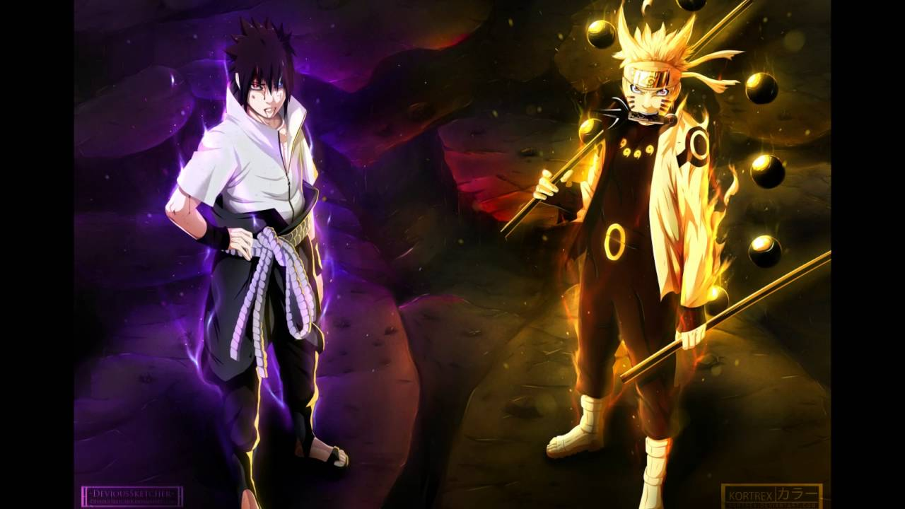 Naruto & Sasuke VS Kaguya Battle Themes - YouTube