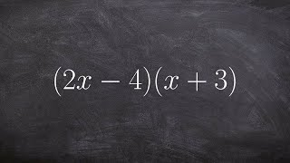 How to Use FΟIL to Multiply Binomials - Polynomial