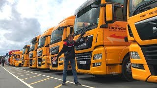 Convoy in the Park Truck Show 2019 Donington Park UK Racing Trucks
