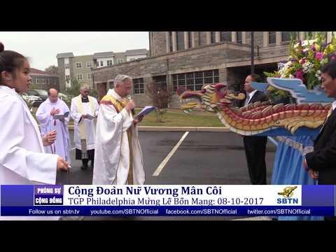 PHÓNG SỰ CỘNG ĐỒNG: Cộng đoàn Nữ Vương Mân Côi Philadelphia mừng lễ bổn mạng