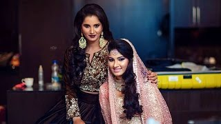 Sania mirza sister anam mirza wedding event || shoaib malik & salman khan dance surprise entry