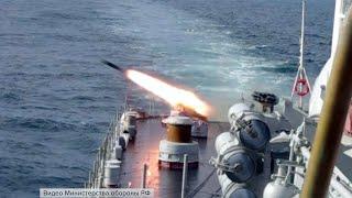 Российские военные провели тактические учения в Японском море.
