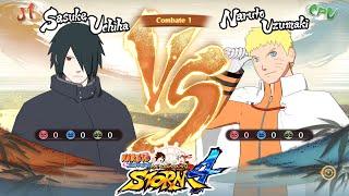 Naruto Shippuden Ultimate Ninja Storm 4 : SASUKE ADULTO VS NARUTO HOKAGE ! Y TRAJES DLC 2