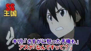 SAO SS キリト「さすがに怒ったぞ俺も」アスナ「なんですって?」 thumbnail