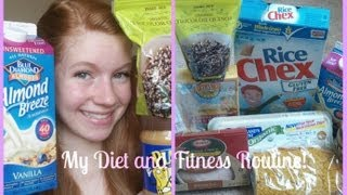 My Diet and Fitness Routine! ? Gluten Free, Dairy Free, Healthy Eating ?