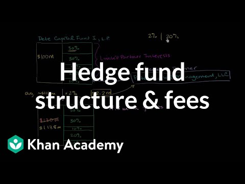 Hedge fund structure and fees | Finance & Capital Markets |